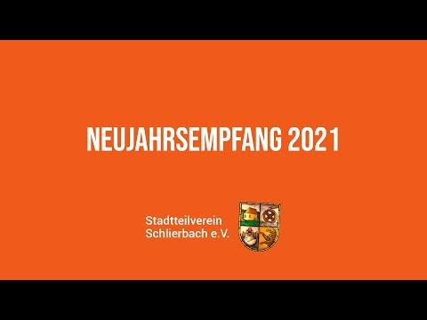 Stadtteilverein Schlierbach - Neujahrsempfang 2021